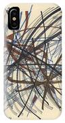 2014 Abstract Drawing #8 IPhone Case
