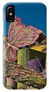 2015 Rose Parade Float Of Butterflies 15rp045 IPhone Case