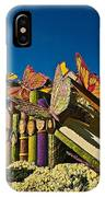 2015 Rose Parade Float With Butterflies 15rp044 IPhone Case