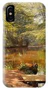 Glimpses Of The Sunby Stream IPhone Case