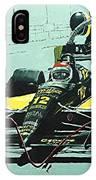 Automobile Racing IPhone X Case