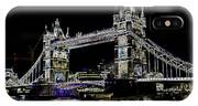 Tower Bridge Art IPhone Case