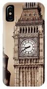 Big Ben Closeup IPhone Case