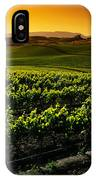 In A Vineyard IPhone Case