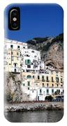 Views From The Amalfi Coast In Italy IPhone Case