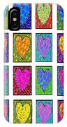 24 Hearts In A Box IPhone Case