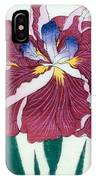 Japanese Flower IPhone Case