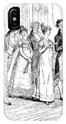 Scene From Pride And Prejudice By Jane Austen IPhone Case