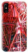 26 East Antenna Abstract 2 IPhone Case