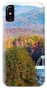 26 East Antenna And The Blueridge IPhone Case