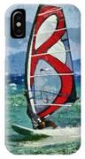 Windsurfing IPhone Case