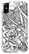 Dance Of Death, 1538 IPhone Case