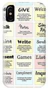 27 Ways To Greet Students IPhone Case