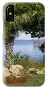 Melbourne Beach Pier In Florida IPhone Case