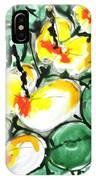 Zenmoksha Flowers IPhone Case