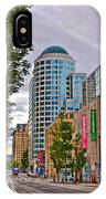 2nd Avenue - Seattle Washington IPhone Case