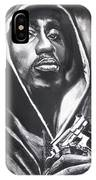 2pac - Thug Life IPhone Case by Eric Dee