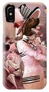 Irish Setter Art Canvas Print IPhone Case