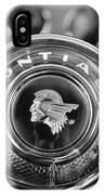 1933 Pontiac Steering Wheel Emblem IPhone Case