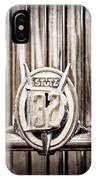 1933 Stutz Dv-32 Five Passenger Sedan Emblem IPhone Case
