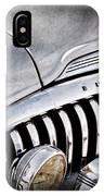 1947 Buick Eight Super Grille Emblem IPhone Case