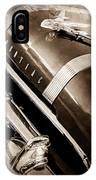 1955 Pontiac Star Chief Grille Emblem - Hood Ornament IPhone Case