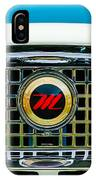 1959 Nash Metropolitan Grille Emblem IPhone Case