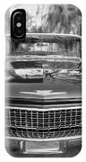 1960 Cadillac Eldorado Biarritz Convertible Painted Bw IPhone Case