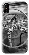1963 Ford Falcon Sprint Convertible Bw  IPhone Case