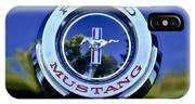 1965 Shelby Prototype Ford Mustang Emblem IPhone Case