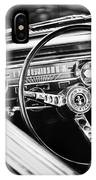 1965 Shelby Prototype Ford Mustang Steering Wheel Emblem IPhone Case