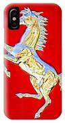 1999 Ferrari 550 Maranello Stallion Emblem IPhone Case