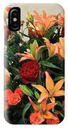 A Gallery's Flowers IPhone Case