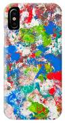 Abstract Colorful Painting Background IPhone Case