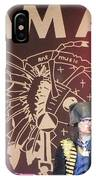Adam Ant IPhone Case