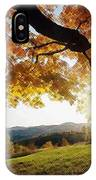 Sunset With An Abstract Twist IPhone Case