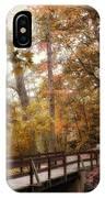 Autumn Awaits IPhone Case