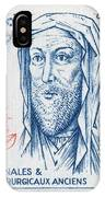 Avicenna (ibn-sina) IPhone Case