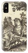 Balthasar Moncornet French IPhone Case