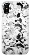 Bare Feet Abstract Painting Original By Zee Clark IPhone Case