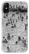 Bathers At Coney Island IPhone Case