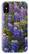 Bluebonnets At Sunset IPhone Case
