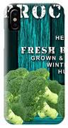 Broccoli Farm IPhone Case