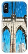 Brooklyn Bridge -  New York City IPhone Case