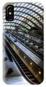 Canary Wharf Station IPhone Case