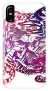 3 Cats Purple IPhone Case