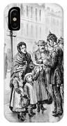 Cholera: Hamburg, 1892 IPhone Case