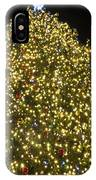 Christmas Tree Ornaments Faneuil Hall Tree Boston IPhone Case