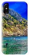 Cliffside Coastline On Corfu IPhone Case