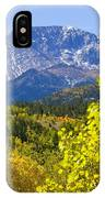 Crystal Creek Autumn IPhone Case